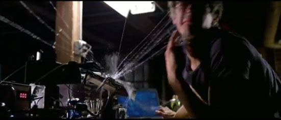 Web Fluid Experiments in The Amazing Spider Man