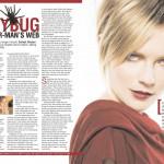 Spider-Man 3 Kirsten Dunst interview for Filmfare