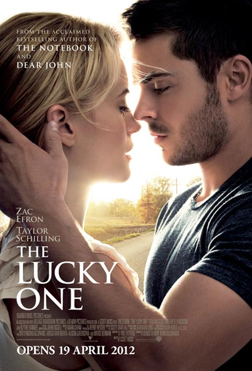 The Lucky One, Zac Efron