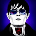 Dark Shadows Depp in sunglasses