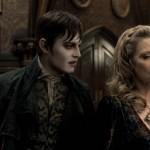 Depp and Pfeiffer in the movie Dark Shadows
