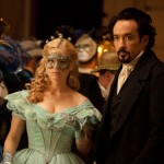 Alice Eve and John Cusack in the movie The Raven
