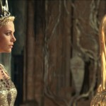 Charlize Theron as Ravenna and the awesome gold Mirror Man