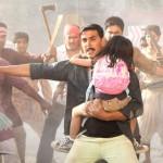 Actor Akshay Kumar in the movie Rowdy Rathore