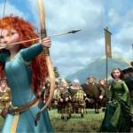 Merida the archer in the movie Brave