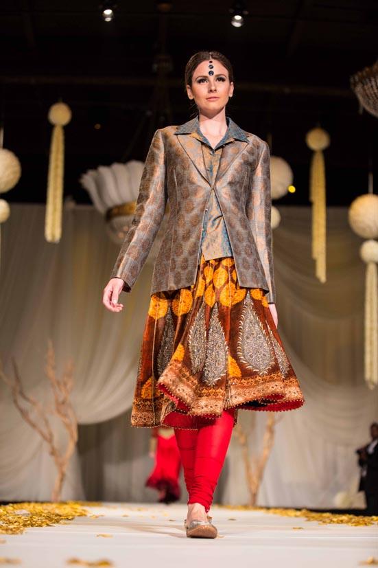 JJ Valaya Fashion Show in Toronto