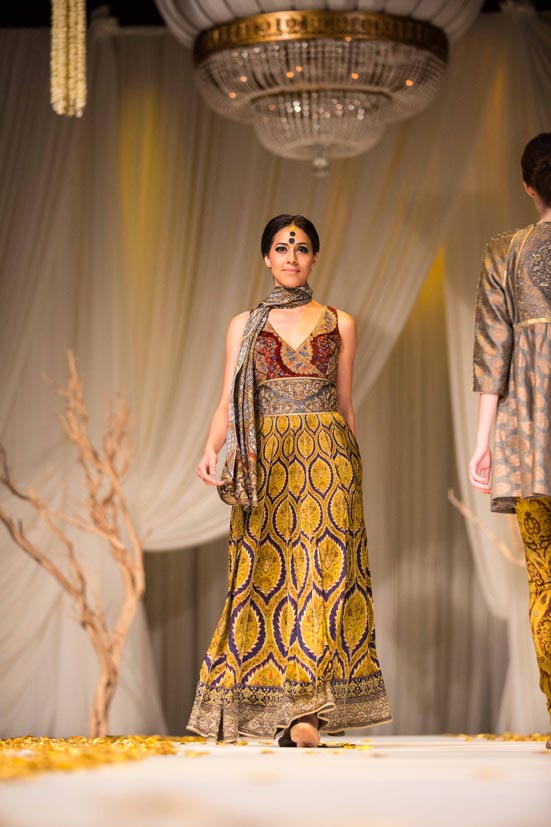From JJ Valaya Fashion Show