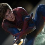 Actor Andrew Garfield in The Amazing Spider-Man
