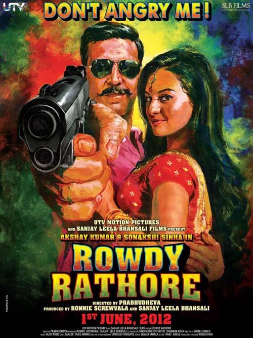 Rowdy Rathore, Akshay Kumar