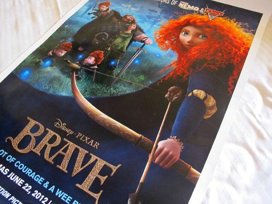 Brave Movie Poster Contest