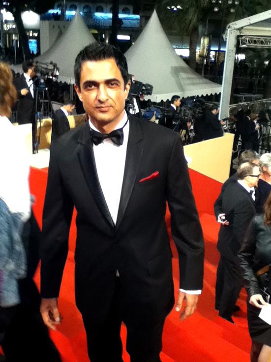 Sanjay Suri on Red Carpet