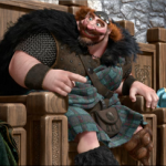 Billy Connolly is the voice of the King in the movie Brave
