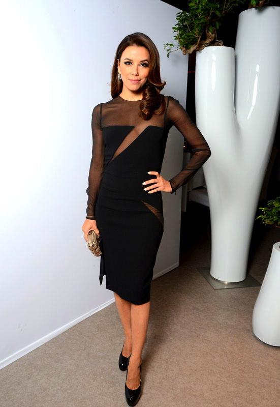 Eva Longoria in Formal Sheer