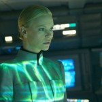 Actor Charlize Theron as Vickers in the movie Prometheus