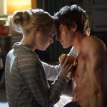 Emma Stone as Gwen Stacy and Andrew Garfield as Peter Parker in The Amazing Spider-Man