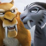 Diego and Shira in Ice Age: Continental Drift.