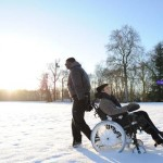 Omar Sy and Francois Cluzet in The Intouchables