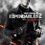 Jean-Claude Van Damme in The Expendables 2 movie poster