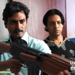 Actors Nawazuddin Siddiqui and Zeishan Quadri in Gangs of Wasseypur 2