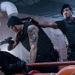 Sly doing his thing in in The Expendables 2