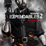 Chuck Norris in The Expendables 2 movie poster