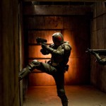 Dredd 3D, a lot like The Raid: Redemption in theme but not in spirit