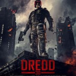 Dredd 3D movie poster