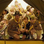 Edward Norton and the scouts in the movie Moonrise Kingdom
