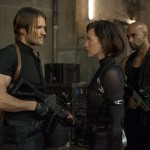 LOL dialogue deliver scene in Resident Evil: Retribution