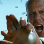 Make things levitate and add slo-mo for a cult film. Bruce is the Terminator in Looper