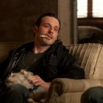 Scoot McNairy, doggie and drugs in Killing Them Softly