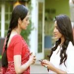 Actor Sridevi and Priya Anand in the movie English Vinglish