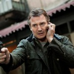 Liam Neeson gets a moment to call his daughter and warn her while the bad guys have a gun to his wife's head right in front of him in Taken 2!