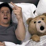 Mark Wahlberg as John with thunder buddy Ted