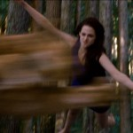 Bella pouncing on the mountain lion in Twilight: Breaking Dawn Part 2 character movie poster