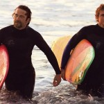 Gerard Butler and Jonny Weston in Chasing Mavericks