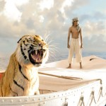 Tiger and the boy in Life of Pi