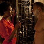 Eve and a close shave for Bond in in Skyfall