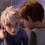 Jack Frost (Chris Pine) and Jamie Benett (Dakota Goyo)