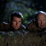 Tom Cruise and Robert Duvall (who comes in at the end of the film) in Jack Reacher