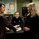 Tom Cruise and Rosamund Pike with a cameo by author Lee Child as the desk sergeant in Jack Reacher