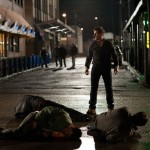 Beating up outside the bar in Jack Reacher