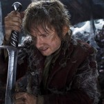 Martin Freeman as Bilbo in The Hobbit