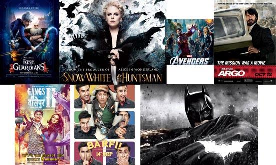 Roseglennorthdakota / Try These Top Movies Of 2012