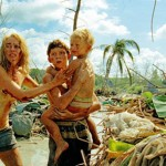 Naomi Watts, Tom Holland and the boy they save in The Impossible
