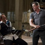 Christian Slater and Sly Stallone in Bullet to the Head