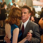 Actors Emma Stone and Sean Penn in the movie Gangster Squad