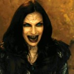 Poor Famke has to look like this through half the film Hansel & Gretel: Witch Hunters