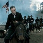 Lincoln surveys the battlefield