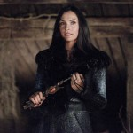 Famke Janssen gets to show her pretty face and some good acting in Hansel & Gretel: Witch Hunters